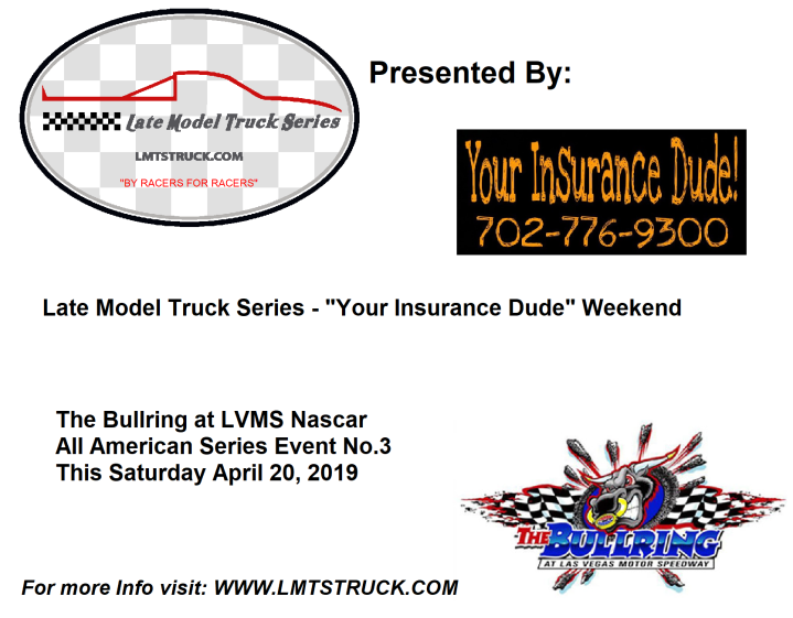 LMTS LVMS April 2019 RACE FLYER